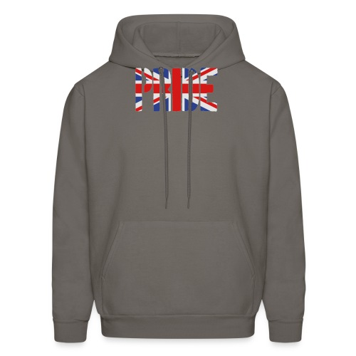 PRIDE Britain Flag, British Flag, Union Jack, UK Flag - Men's Hoodie