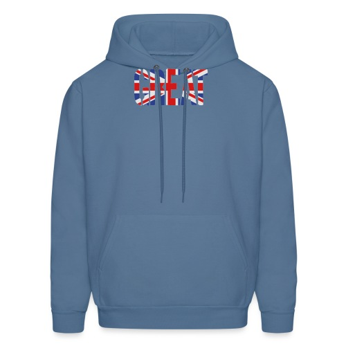 Great Britain Flag, British Flag, Union Jack, UK Flag - Men's Hoodie