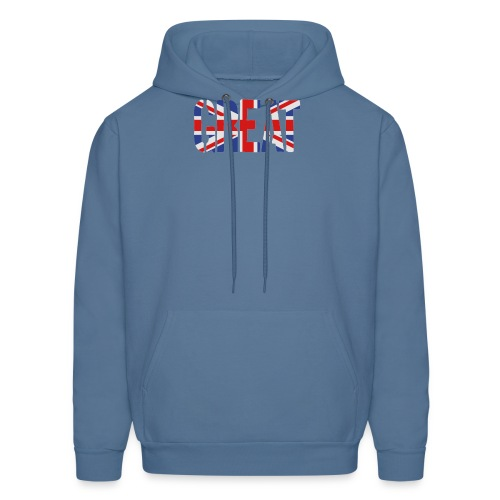 Great Britain Flag, British Flag, Union Jack, UK Flag - Men's Hoodie