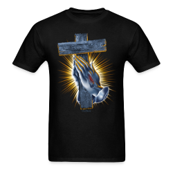 R-103 Blessed Hands Hoodie 3XL - Men's T-Shirt