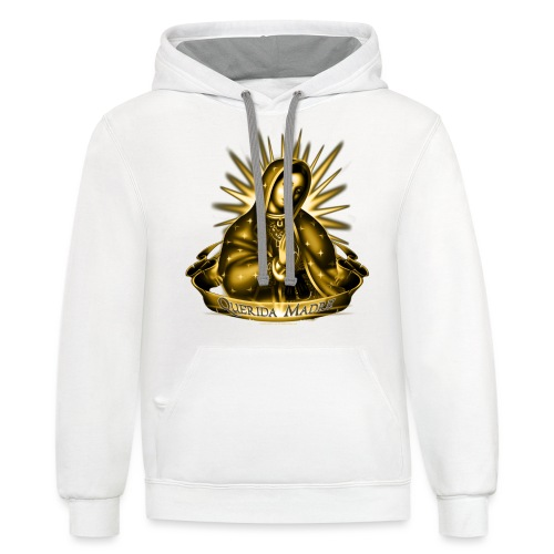 R-102 Querida Madre Women's T - Contrast Hoodie