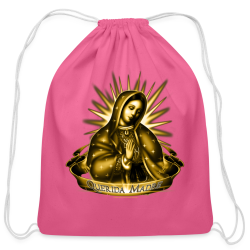 R-102 Querida Madre Women's T - Cotton Drawstring Bag