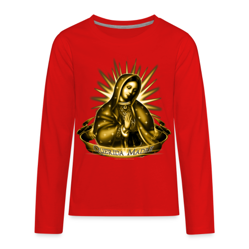 R-102 Querida Madre Women's T - Kids' Premium Long Sleeve T-Shirt