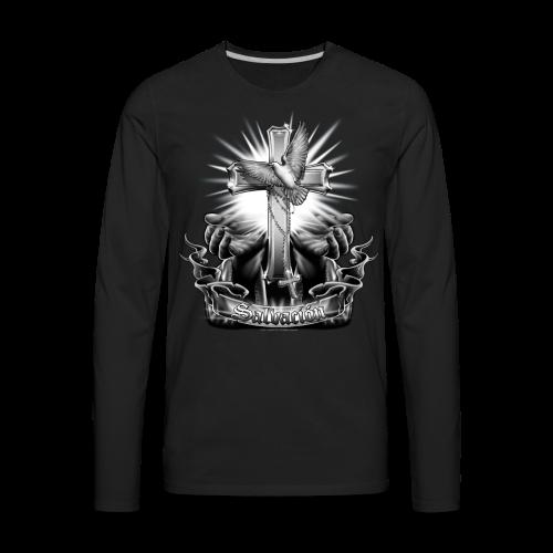R-108 Salvacion Men's T - Men's Premium Long Sleeve T-Shirt