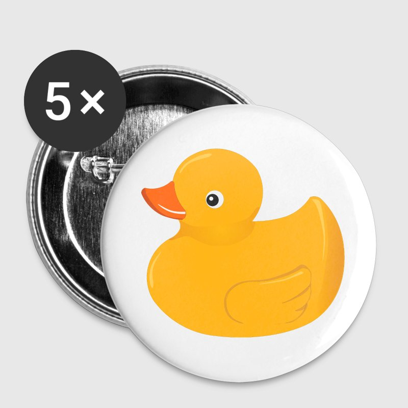 Yellow rubber duck Buttons - Large Buttons