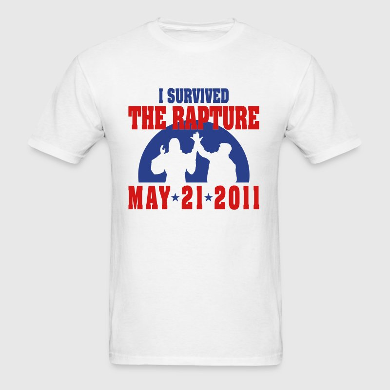I survived the rapture T-Shirts - Men's T-Shirt