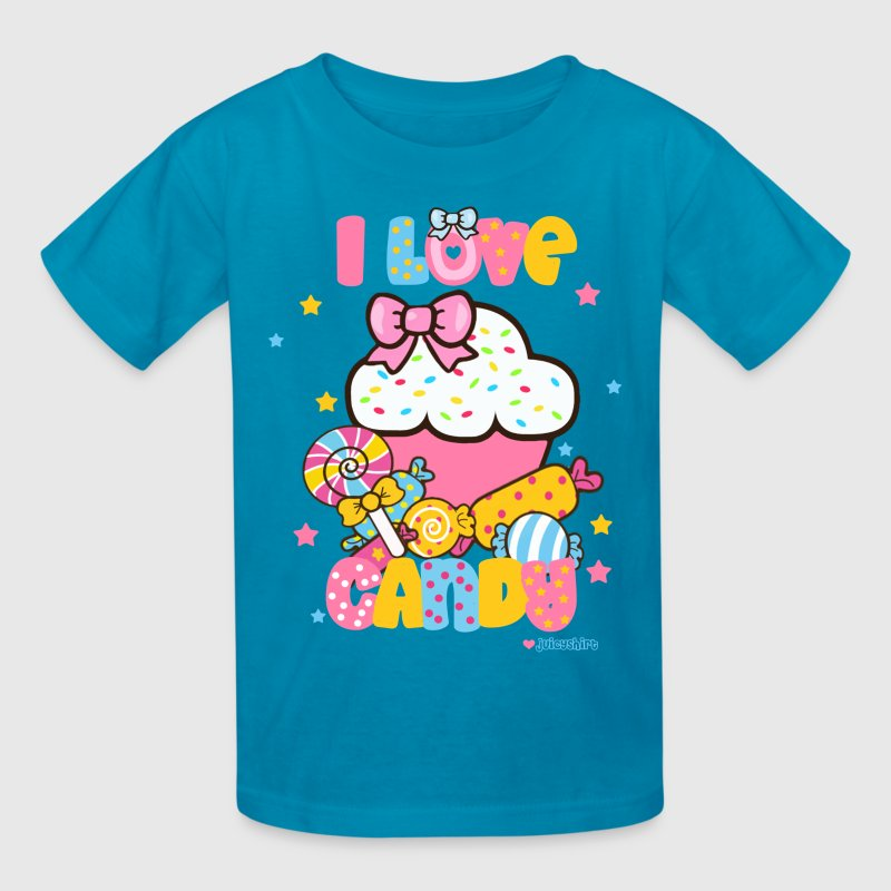 I love candy Kids' Shirts - Kids' T-Shirt