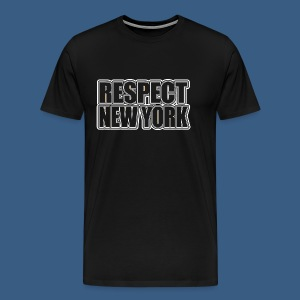 Respect New York - Men's Premium T-Shirt
