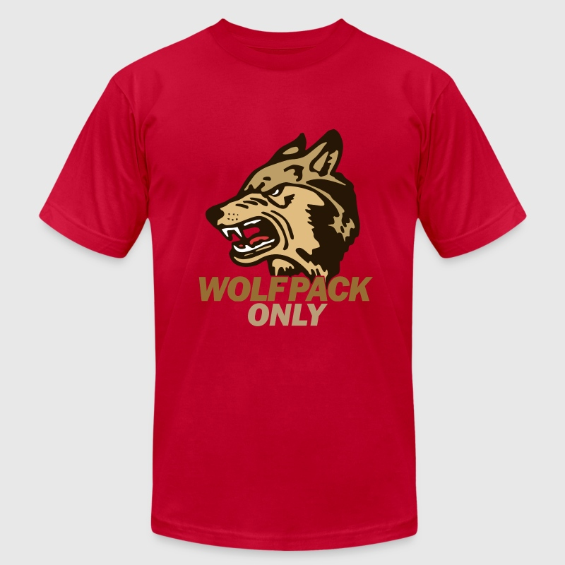 Hangover Wolf Pack Only T-Shirts - Men's T-Shirt by American Apparel