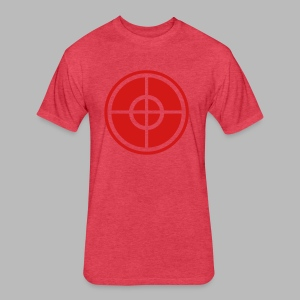 The Sniper - Fitted Cotton/Poly T-Shirt by Next Level