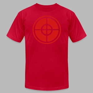 The Sniper - Men's T-Shirt by American Apparel