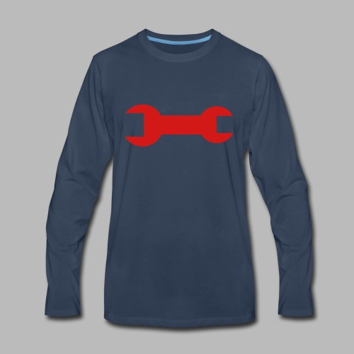 The Engineer - Men's Premium Long Sleeve T-Shirt