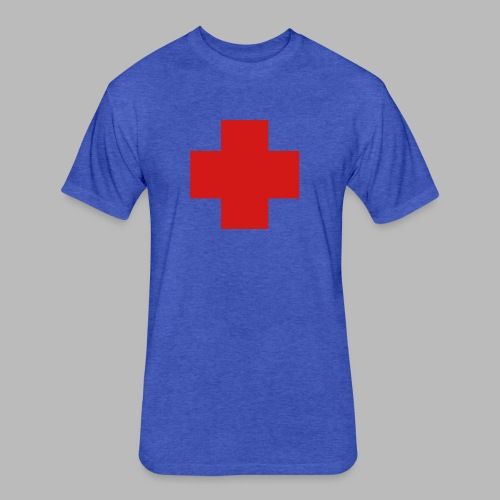 The Medic - Fitted Cotton/Poly T-Shirt by Next Level
