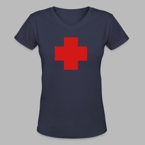 The Medic - Women's V-Neck T-Shirt