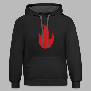 The Piromancer - Contrast Hoodie