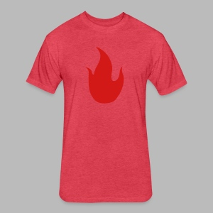 The Piromancer - Fitted Cotton/Poly T-Shirt by Next Level