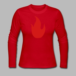 The Piromancer - Women's Long Sleeve Jersey T-Shirt