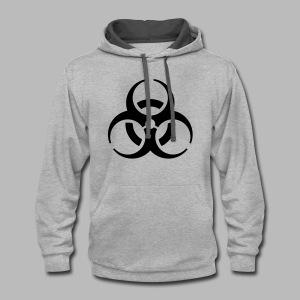 Biohazard - Contrast Hoodie