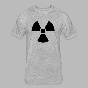 Radiation - Fitted Cotton/Poly T-Shirt by Next Level