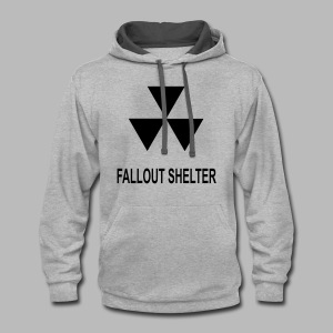 Fallout Shelter - Contrast Hoodie