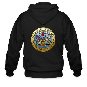 US Army Seal - Men's Zip Hoodie