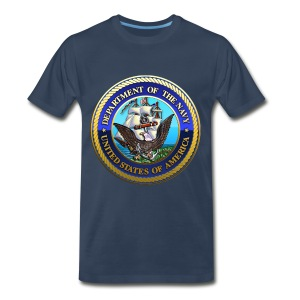 US Navy (USN) Seal - Men's Premium T-Shirt