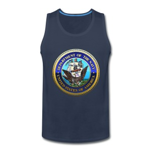 US Navy (USN) Seal - Men's Premium Tank