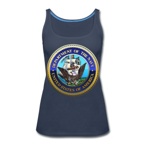 US Navy (USN) Seal - Women's Premium Tank Top