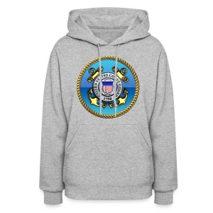 US Coast Guard (USCG) Emblem - Women's Hoodie
