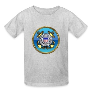US Coast Guard (USCG) Emblem - Kids' T-Shirt