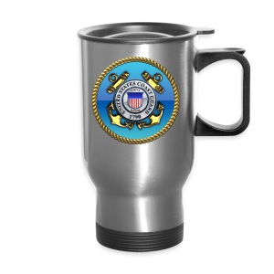 US Coast Guard (USCG) Emblem - Travel Mug