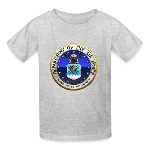 US Air Force (USAF) Seal - Kids' T-Shirt