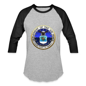 US Air Force (USAF) Seal - Baseball T-Shirt