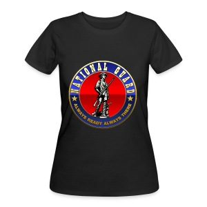 US National Guard (USNG) Emblem - Women's 50/50 T-Shirt