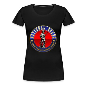 US National Guard (USNG) Emblem - Women's Premium T-Shirt
