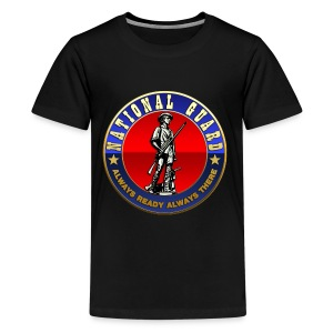US National Guard (USNG) Emblem - Kids' Premium T-Shirt