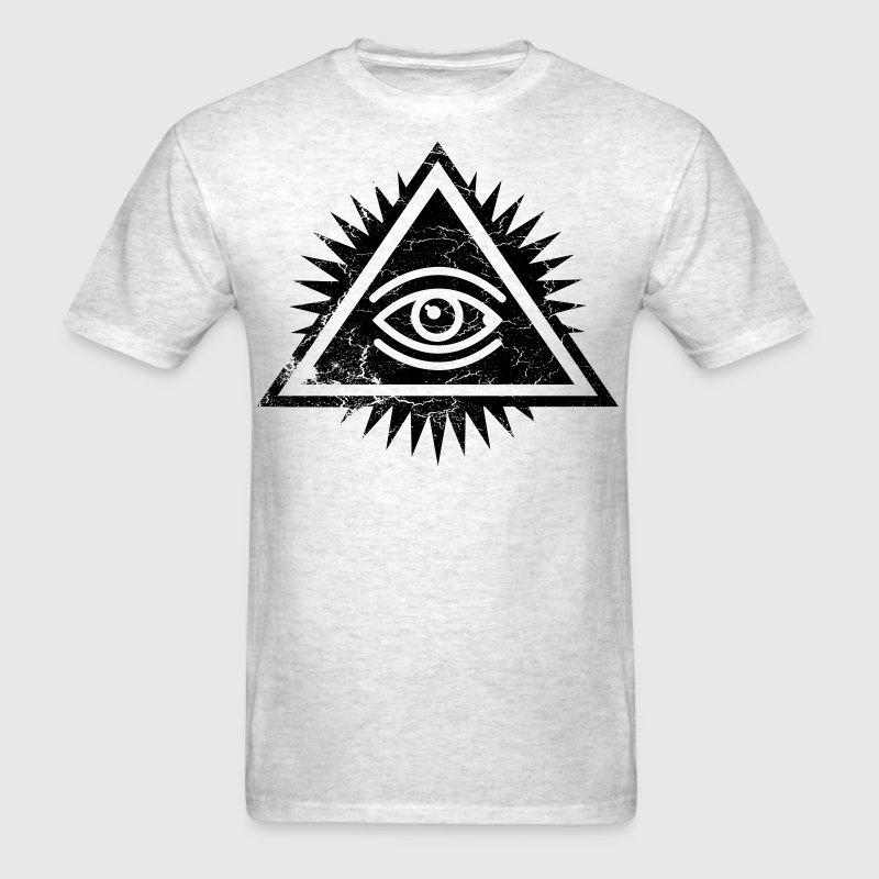 Eye of Providence logo by Ctrl+Z Clothing T-Shirts - Men's T-Shirt
