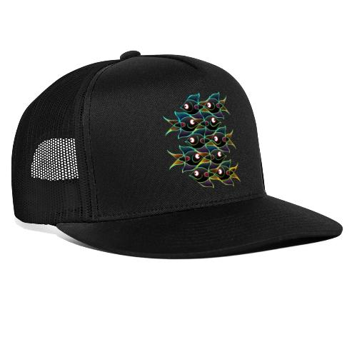 A World Full of Smiling Fishes - Trucker Cap