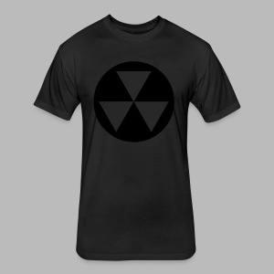 Fallout Shelter v2 - Fitted Cotton/Poly T-Shirt by Next Level