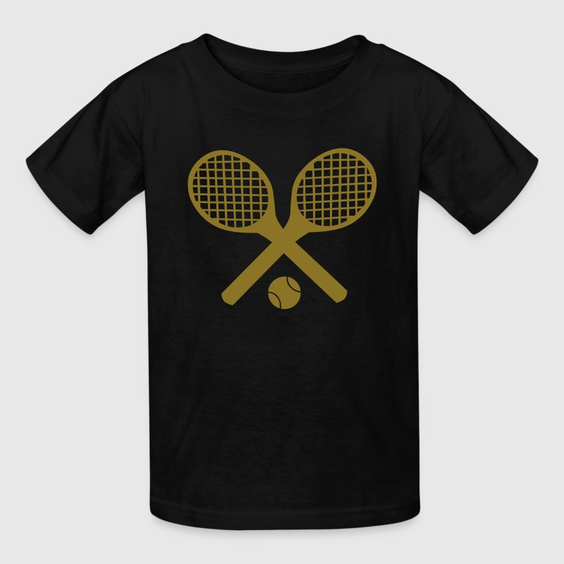 Tennis Rackets and Ball Kids' Shirts - Kids' T-Shirt