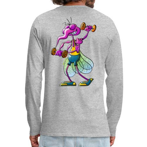 Mosquito Lifting Weights - Men's Premium Long Sleeve T-Shirt