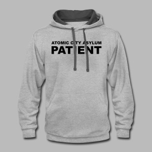 Patient Shirt for Atomic City Asylum - Contrast Hoodie