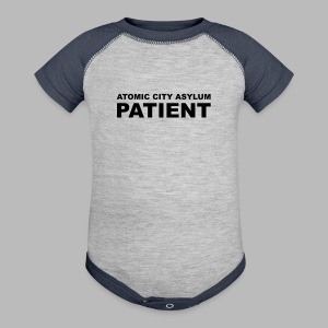 Patient Shirt for Atomic City Asylum - Baby Contrast One Piece