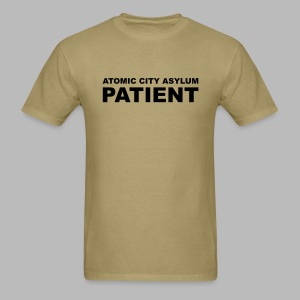 Patient Shirt for Atomic City Asylum - Men's T-Shirt