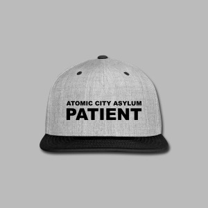 Patient Shirt for Atomic City Asylum - Snap-back Baseball Cap