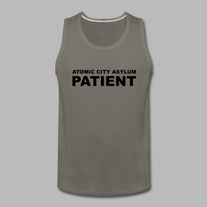Patient Shirt for Atomic City Asylum - Men's Premium Tank