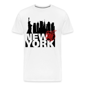 New York Ringer T-Shirt - Men's Premium T-Shirt