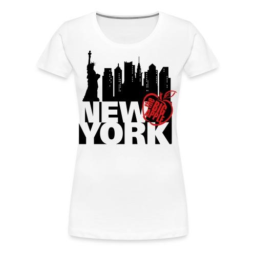 New York Ringer T-Shirt - Women's Premium T-Shirt