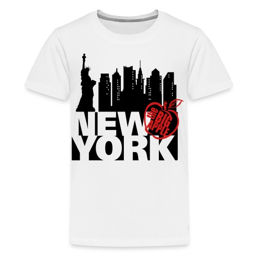 New York Ringer T-Shirt - Kids' Premium T-Shirt