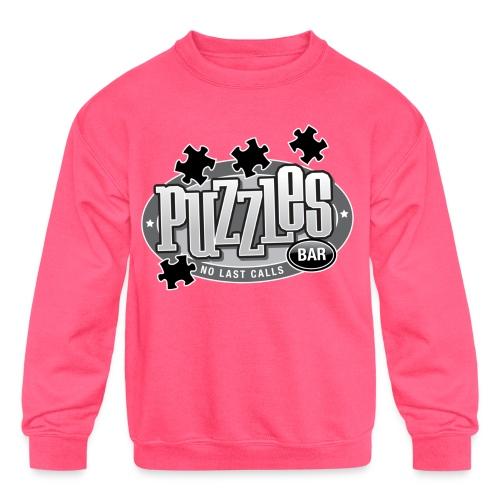 Puzzles Bar Women's Standard Weight T-Shirt - Kids' Crewneck Sweatshirt